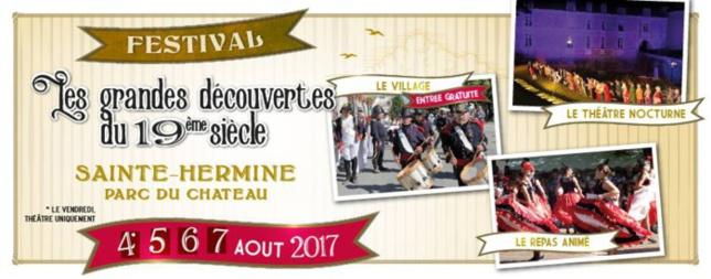 Festival de l'histoire : Les grandes découvertes du 19ème siècle.