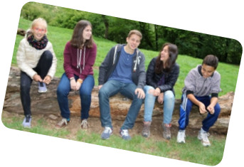 Jeunes lycéens étrangers Allemands, Italiens, Mexicains cherchent une famille d'accueil