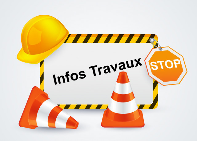 Travaux rue Maurice Gandemer - Route Barrée