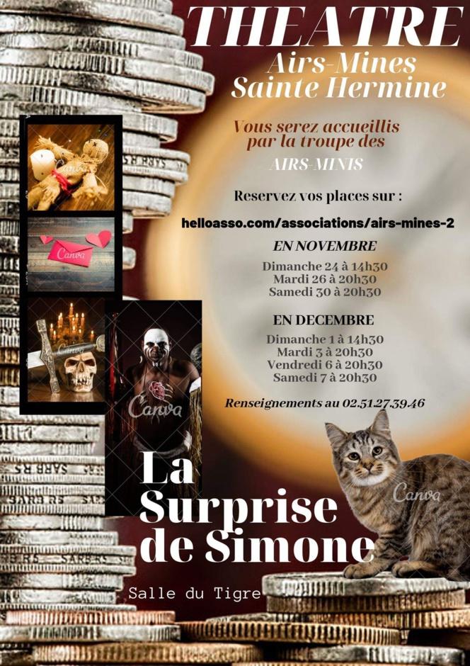Théâtre Airs-Mines - La Surprise de Simone