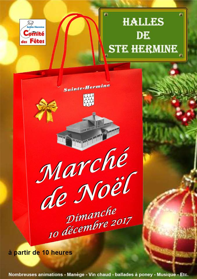 Marché de Noël à Sainte Hermine