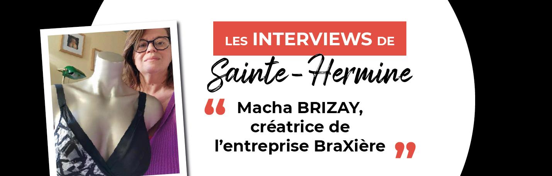 Macha Brizay et sa société BRAXIERE, une entrepreneuse innovante à Sainte-Hermine