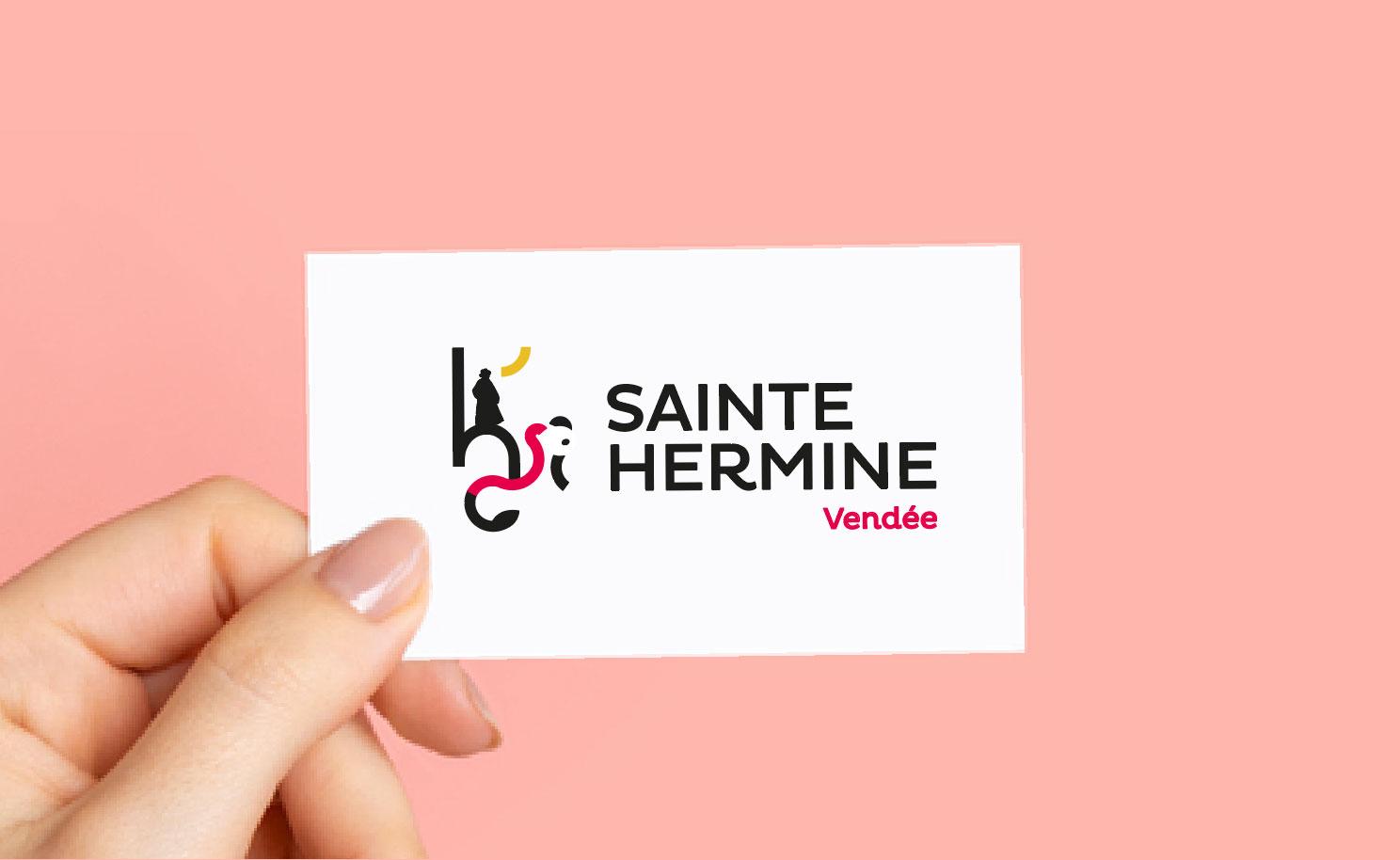 Un nouveau logo pour Sainte-Hermine
