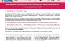 Tout savoir sur le recensement : www.le-recensement-et-moi.fr
